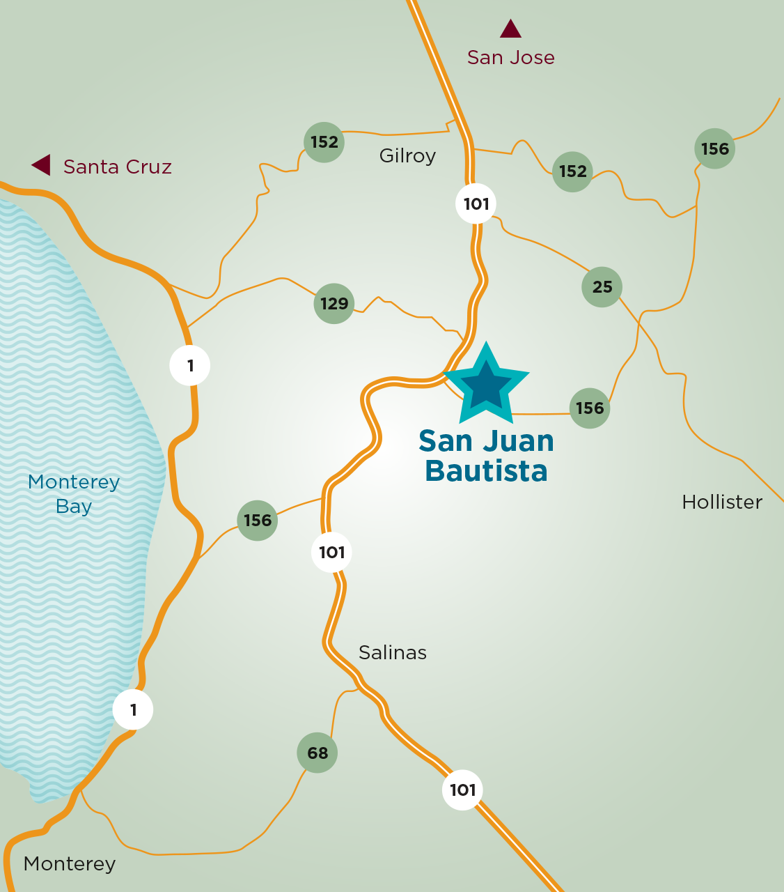 Welcome to San Juan Bautista, California on